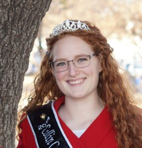2018 Honey Princess Virginia Allen