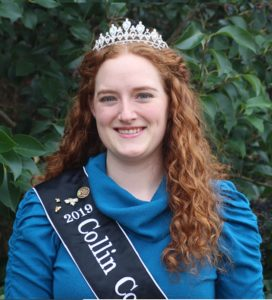 2019 Honey Queen Virginia Allen